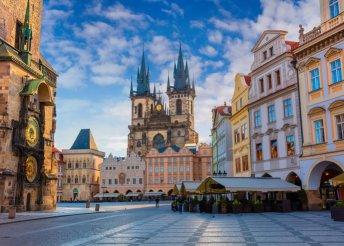3 napos városnézés Prágában, buszos utazással, reggelivel, idegenvezetéssel