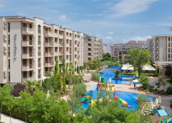 8 napos nyaralás Bulgáriában repülővel, reggelivel, transzferrel, a Cascadas Family Resortban***