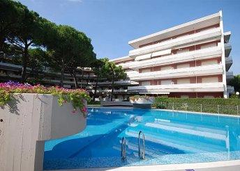 Vakáció az olasz Adrián, Lignanóban, önellátással, a Rezidenza La Meridiana apartmanjaiban