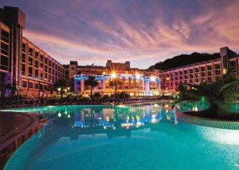 8 nap Törökországban, all inclusive ellátással, repülőjeggyel, illetékkel, transzferrel, 5*-os hotelben