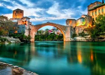 7 napos lazítás  az Adriai-tengernél, buszos utazással, reggelivel, idegenvezetéssel