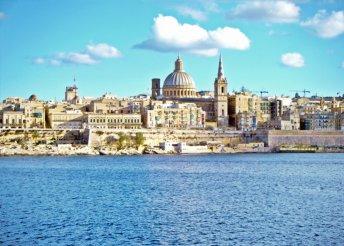 8 napos nyaralás Máltán, a Hotel Coralban, repülővel, félpanzióval, programokkal és kirándulásokkal