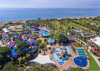 8 napos nyaralás Antalyában, repülőjeggyel, ultra all inclusive ellátással, az IC Hotels Green Palace-ban*****