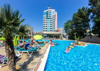 Last minute nyaralás Naposparton all inclusive ellátással, a Grand Hotel Sunny Beachben****