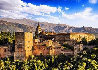 6 napos körutazás Dél-Spanyolországban, Andalúziában, sevillai városnézéssel, félpanzióval, repülőjeggyel