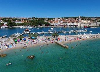 1 napos strandolás az Adriai-tengerben, a horvátországi Krk-szigeten, buszos utazás 5 választható időpontban