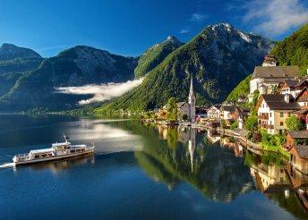 3 napos kirándulás az ausztriai Alpokban, a Salzkammergut-hegyen, buszos utazással, reggelivel