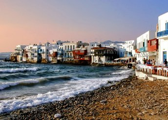 6 napos kalandozás 1 személyre Görögországban, repülőjeggyel, hajózással, félpanzióval/teljes ellátással – vár Athén, Szantorini, Míkonosz és Kréta