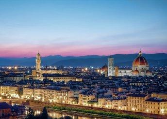 4 napos városnézés Firenzében, buszos utazással, reggelivel, 3*-os szállással, kirándulással Toszkánában