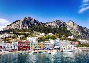 6 napos olaszországi kirándulás Nápolyba, Caprira és Sorrentóra, reggelivel, 3*-os szállással, busszal