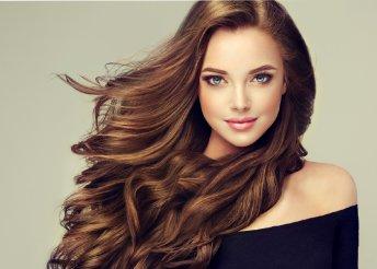 Női hajvágás keratinos pakolással bármilyen hosszúságú hajra a Lucias's Style szalonban
