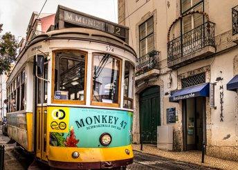 5 nap 2 főre Lisszabonban, reggelivel, repülőjeggyel, illetékkel, 3*-os hotel