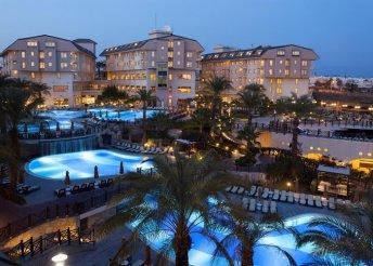 8 nap a török riviérán, Sidében, repülőjeggyel, all inclusive ellátással, a Novum Garden***** Hotelben