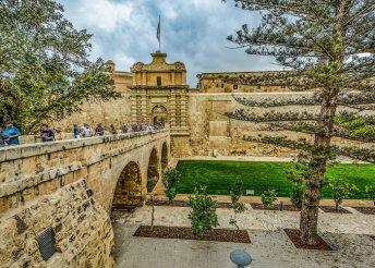 8 napos vakáció Máltán, repülőjeggyel, félpanzióval, 3 kirándulással, belépőkkel
