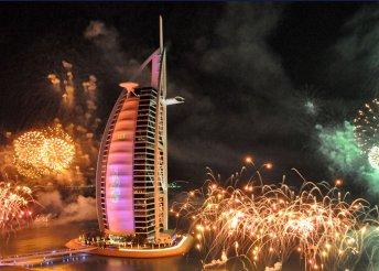 7 vagy 10 napos szilveszteri kaland Dubai-ban, reggelivel, szilveszteri vacsorával, 4*-os szállással