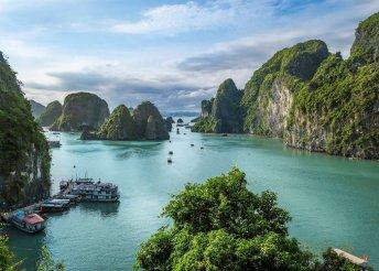 Szilveszter Vietnámban 4*-os szálládákban, 1 éjszaka hajón a Halong-öbölben