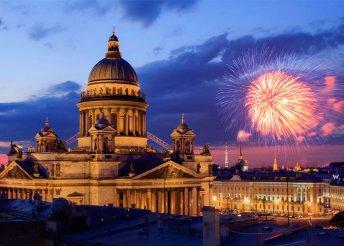 6 napos szilveszteri városnézés Szentpéterváron, reggelivel, transzferekkel, idegenvezetéssel