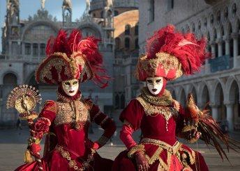 Buszos utazás a velencei és a rijekai karneválra