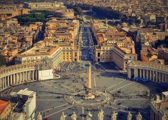 5 napos városnézés Rómában, repülőjeggyel, reggelivel és 3*-os szállással