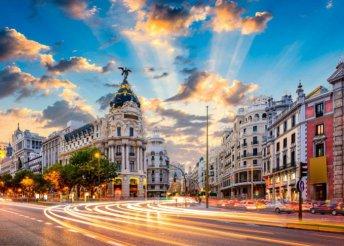 4 napos városnézés Madridban, a spanyol fővárosban, repülőjeggyel, reggelivel, 3*-os szállással