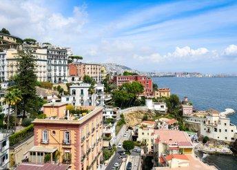 3 napos városnézés a dél-olasz Nápolyban, repülőjeggyel, reggelivel és 3*-os szállással