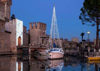 4 napos karácsonyi kirándulás Észak-Olaszországban, a Garda-tó környékén, buszos utazással
