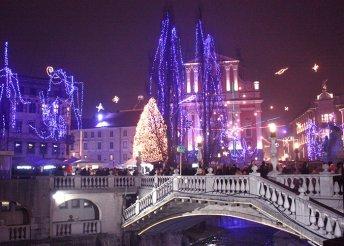 Adventi hétvége Zágrábban és Szlovéniában, buszos utazással, 2 éjszaka szállással 3*-os szállodában