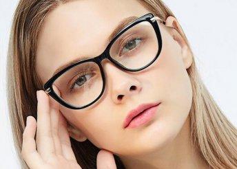 Komplett, vékonyított lencséjű szemüveg