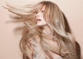 Hajvágás mélyhidratáló, tápláló argánolajos kezeléssel és szárítással a budai Yes! Hair szalonban
