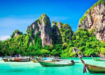 Thaiföld: 7 éj Pattayán (Jomtien Palm Beach****), 2 éj Siem Reapon (hotel****), reggeli, repülőjegy