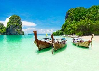 Thaiföld: 7 éj Krabin (Centara by Centara Phu Pano****) és 2 éj Bangkokban (Cha Da Bangkok****)