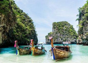 Thaiföld: 7 éj Phuketen (Hyton Leelavadee****) és 2 éj Bangkokban (Cha Da Bangkok****)