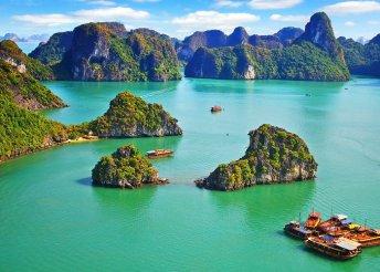 Körutazás Vietnámban, 13 nap 4*-os szállodákban és hajón, reggelivel, 8 ebéddel