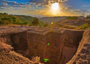 Körutazás Etiópiában, 12 nap 3-4*-os szállodákban félpanzióval, belföldi repülőjegyekkel