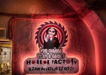 Fűrész 1 szabadulószoba – 60 perces játék 4-7 fős csapatok részére a Horror Factory jóvoltából