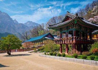 11 napos körutazás Dél-Koreában, repülőjeggyel, 3-4*-os szállásokkal, reggelivel