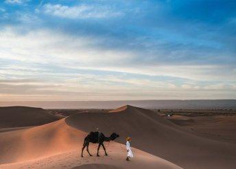 12 napos körutazás Marokkóban agadiri pihenéssel, repülőjeggyel, illetékkel, félpanzióval