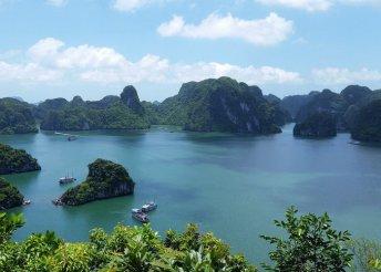 12 napos körutazás Vietnámban, Laoszban és Kambodzsában, repülőjeggyel, félpanzióval, hajózással
