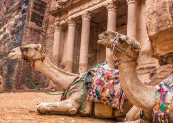 8 napos körutazás Jordániában, repülőjeggyel, félpanzióval, programokkal, belépőkkel