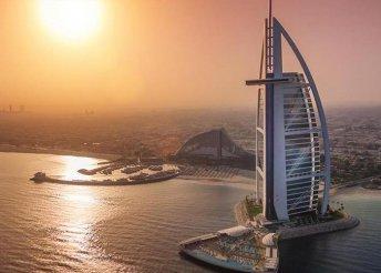12 nap az Emírségekben, hajózás az Arab-öbölben, kirándulás Dohában, Dubajban és Abu Dhabiban