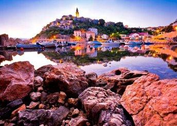 4 napos nyaralás az Adrián, Krk-szigeten,buszos utazással, félpanzióval