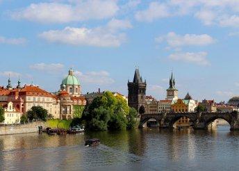 2 nap Prágában, szállás 3*-os hotelben reggelivel, buszos utazással