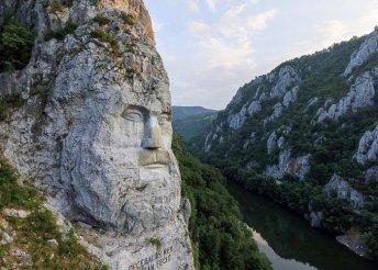 4 nap Herkulesfürdőn, a Kazán-szorosnál és az Al-Duna tájain, reggelivel és busszal