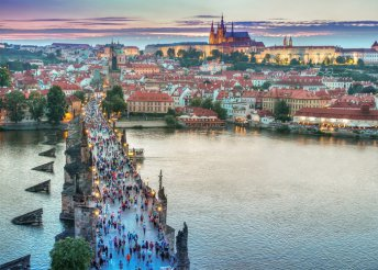 3 nap 2 személyre Prágában reggelivel, a Vencel tér közelében lévő az Alton*** Hotelben