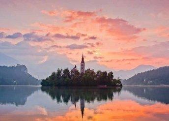 3 nap Szlovéniában, a Bledi- és a Bohinji-tónál, reggelivel, 4*.os szállással, buszos utazással