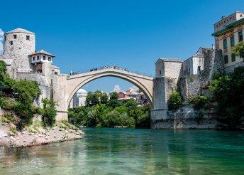 7 napos nyaralás az Adriai-tengernél, buszos körutazás félpanzióval, idegenvezetéssel