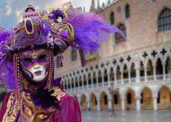 3 napos buszos kirándulás a velencei karneválra, 3*-os szállással és félpanzióval