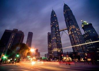 14 napos körutazás Malajziában, Kuala Lumpurban, Borneón, Szingapúrban, Hongkongban és Makaón