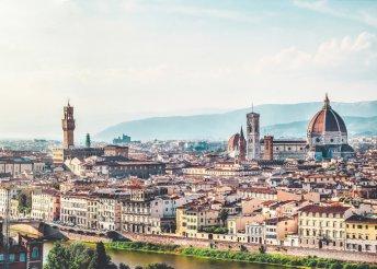 Május 1-jei kirándulás Olaszországban, Rómában, Firenzében, Assisiben és Ferrarában
