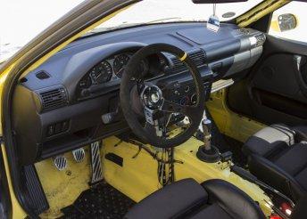 Drift oktatás belső kamerás felvétellel BMW M Compact versenyautóval a Drive-X Sport jóvoltából